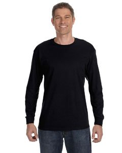 Heavyweight Long Sleeve Tee (Kectelly - Heavyweight Blend 50/50 Long Sleeve T-Shirt)