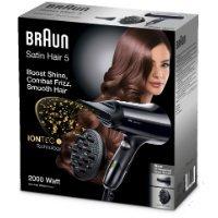 Braun HD530 - Secador pelo tecnología iónica, Negro