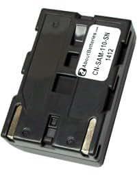 Batería tipo SAMSUNG SB-L110, 7.4V, 1600mAh, Li-ion