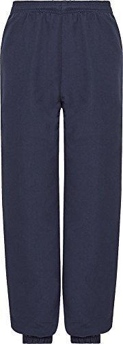 Marine-blau-uniform Hose (Jungen Schulanfang Uniform DL technisch elastisch Trainingsanzug Kurze Hose - Marine, 18)