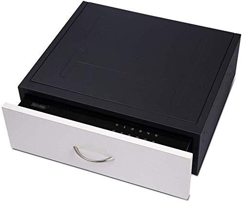 LNDDP Caja Fuerte para el hogar, cajón pequeño Contraseña Oculta Caja Fuerte la Oficina del Hotel...