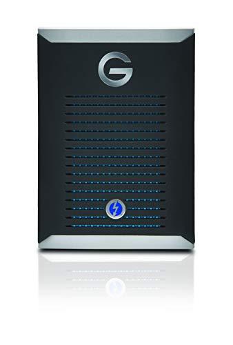 G-Technology G-Drive Mobile PRO SSD 500GB SSD di Livello Professionale con Thunderbolt 3
