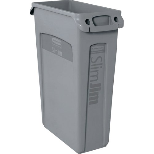 rubbermaid-commercial-vented-slim-jim-rubbish-bin-waste-receptacle-87-litres-grey-plastic-fg354060gr