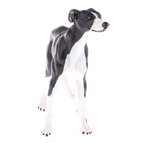 Perfeclan Lebensechtes Tier Figuren Spielzeug, Mini Wildtier / Insekte / Zootier / Bauernhof Tiere Modell Handwerkskunst - Hund #a -