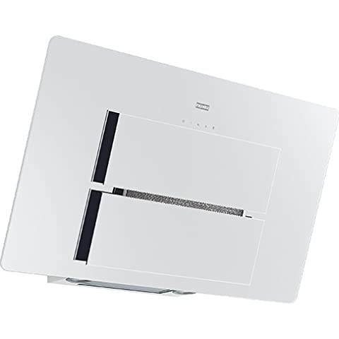 Franke Maris FMA 905 WH Kopffrei Wand Dunstabzugshaube Weiß Schrägesse 90 cm