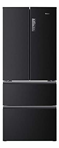 Haier HB14FNAA frigo américain - frigos américains (Autonome, Noir, A+,