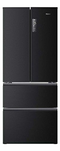 Haier HB14FNAA frigo américain - frigos américains (Autonome, Noir, A+, SN-T, Bas, 4*)