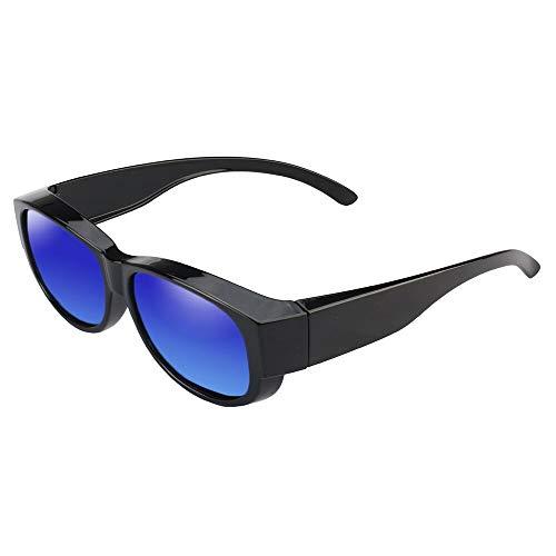 DFIHDCN Sonnenbrillen Unisex-Sonnenbrillen Polarisierte Brille passt über Korrekturbrillen UV400