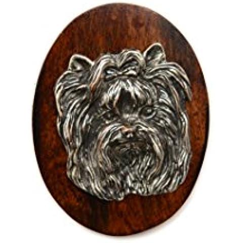Yorkshire Terrier, Yorkie, Clip de perro, clip de anillo/número titular, edición limitada, ArtDog