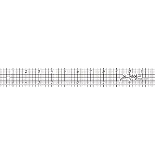 Advantus 12-inch Tim Holtz Idea-Ology Design, Silver