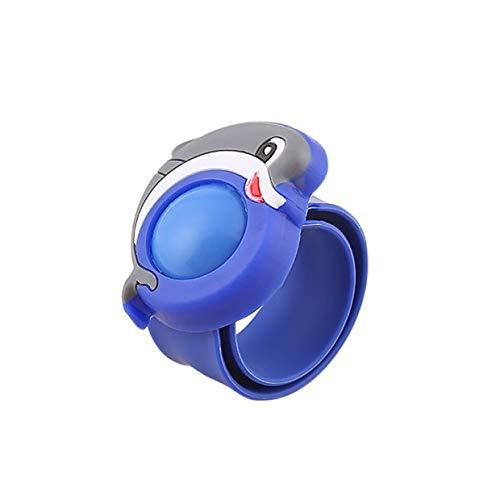 ctgvh braccialetti repellenti della zanzara dei bambini di , fascia di protezione personale di viaggio dei polsini della pianta del fumetto dell'olio essenziale del silicone per i bambini