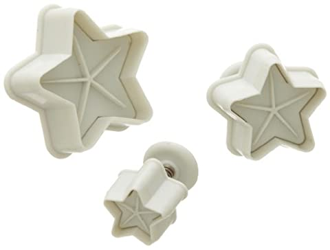 Ateco Plunger/Cutter Set - Star - Large