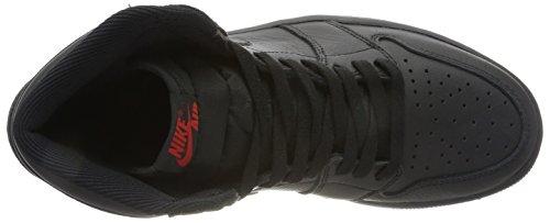 Ginnastica Jordan Nike università Scarpe Air Alta Da 1 Rosso Retro Uomo Nero Og p8A6Aq4W5w