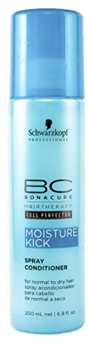 Schwarzkopf 10390 BC Moisture Kick Spray Conditioner, 200 ml, 1er Pack, (1x 0,2 L) - Conditioner Spray Bc