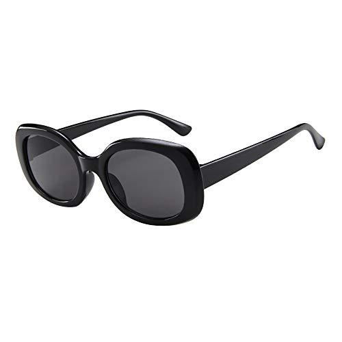URIBAKY Unisex Vintage Retro Oval Brillen Sonnenbrillen,Brillen Frauen Männer Mode für das Reisen