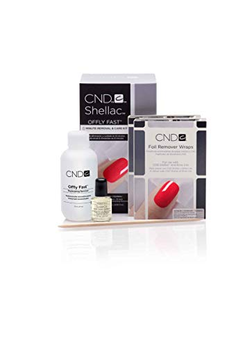 CND Offly Fast Remover Kit 1er Pack(1 x 141 milliliters) -