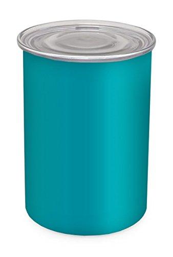 Türkis Behälter Lagerung (Kaffee Vorratsdose–Luftdichter Behälter bewahrt Lebensmittel Frische–Airscape Stahl–64fl. oz–Türkis)