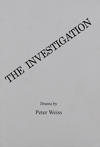 Investigation by Peter Weiss (1999-06-01)