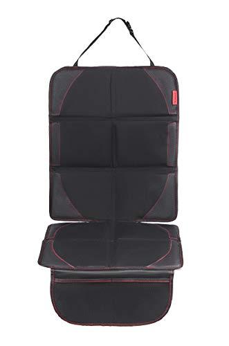 8safe Protector de Alta Calidad para Asiento de Coche   Antideslizante y Resistente   Especial para Silla de Bebe   ISOFIX Compatible   Oxford 600D   Tamaño ideal para Turismo/SUV