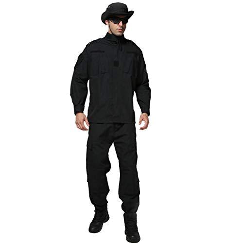 GLJJQMY Set di Pantaloni Slim da Alpinismo da Uomo Hidden Sports Mountaineering Camuffare (Size : XXL/185-185B/100kg)