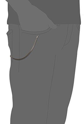 MTS MTS Taschenuhrkette FigaroketteG5mm/30cm