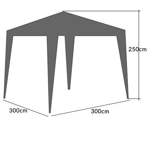 Zoom IMG-3 deuba gazebo da giardino 3x3m