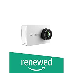 (Renewed) YI 4K Sports and Action Video Camera (White Pearl)