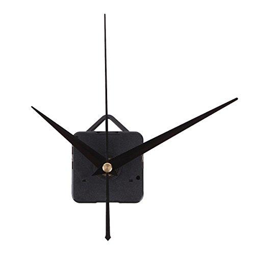 RAIN QUEEN Mécanisme d' Horloge à Quartz 3 Aiguille Super Silencieux Noir