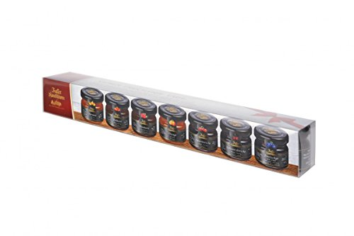 Faller Konfitüren - 7-fruchtige-Tage Probierset (7x Konfitüre je 28 g)