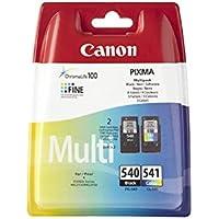 Canon PG-540/CL-541 Cartuccia Originale Getto d'Inchiostro, 2 Pezzi, Nero + Colore