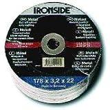 Ironside 241430 Disque à tronçonner 230 x 3,2 mm pour métal