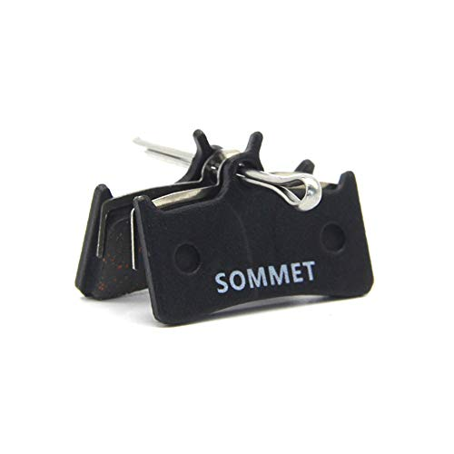 SOMMET Pastiglie Freno a Disco Semi-Metallico per Shimano XT M775 / M775-DH/XTR Pre-02 / Grimeca System 8 / Hope M4 / Sram 9.0