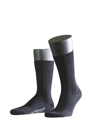 FALKE Herren Socken 14683 Milano Business SO, Gr. 39/40, Blau (dark navy 6370)