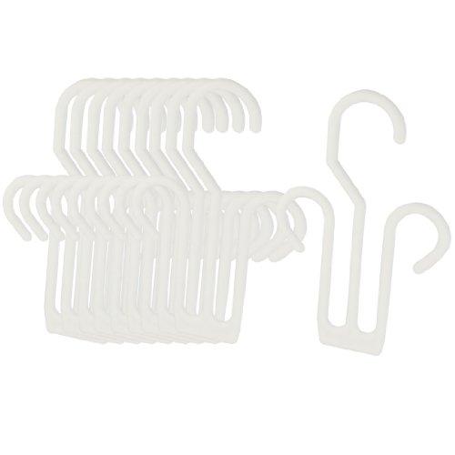 Colgador de Repisa de Secado de Plástico para Zapatos de Cuero/Pantuflas - 10 Piezas