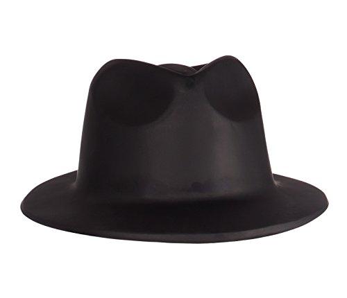 Generique - Chapeau gangster adulte noir