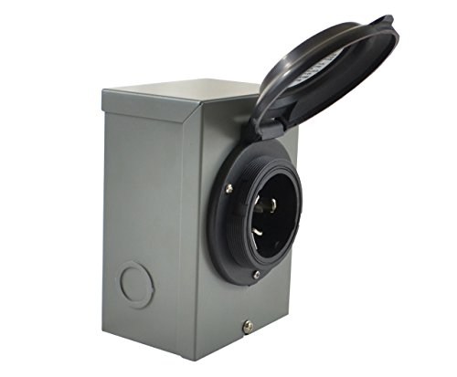 Conntek Isi 80ss2-gybx temporäre Generator Transfer Switch Power Einlass Box, 50AMP