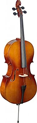 Stagg VNC-4/4 L Plywood Cello con el carcasa