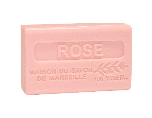 Provence Seife Rose (Rosenduft) - Karité 125g (Rose Marseille Savon De)