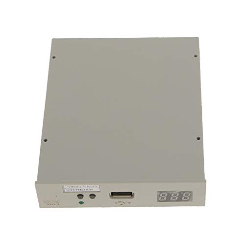 B Blesiya SFR1M44-LUN 3,5'' Aktualisierte Version USB Diskettenlaufwerk -Graufarbig