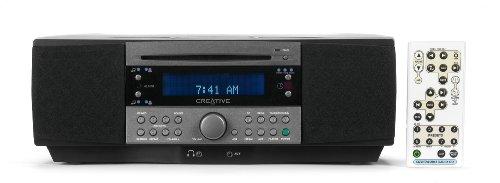 Creative SoundWorks 745 Radio mit integriertem CD-Player schwarz