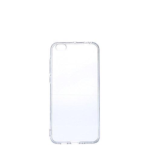 Nadakin Xiaomi Mi 5C Hülle Case Transparent Handyhülle Flex Silikon Schutzhülle Durchsichtig Ultra Thin TPU Crystal Clear Back Cover Premium Kratzfest Bumper Slim case für Xiaomi Mi 5C (Transparent)