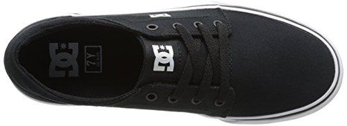 DC Shoes Trase Tx, Baskets mode garçon Multicolore (Black/White- Bkw)