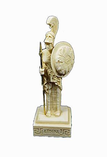 Estia Creations Athena Skulptur antiken griechischen Göttin der Weisheit und Strategie Alter Statue