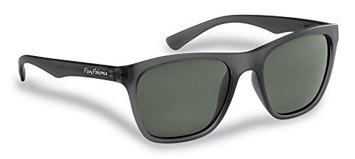 Flying Fisherman Fowey Polarisierte Sonnenbrille mit Schildkröte Frames, Damen Herren, Crystal Granite/Smoke