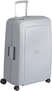Samsonite S'Cure Spinner 75/28 Koffer, 75cm, 102 L, Silver
