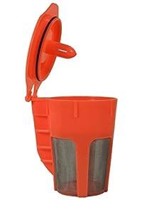 Reusable Carafe K-Cup - Carafe Coffee Filter K Cup for Keurig 2.0 K200, K300, K400, K500 Series by Brew By Design