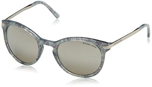 Michael Kors Damen ADRIANNA III 31616G 53 Sonnenbrille, Grey Pastel Tort/Silvermirror,