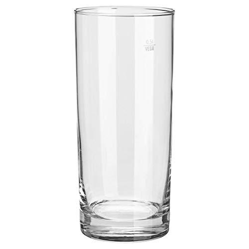Longdrinkgläser Regular, 0.6l, 17.2cm (H), transparent, bei 0,5 l Füllstrich 12 Stück/Packung