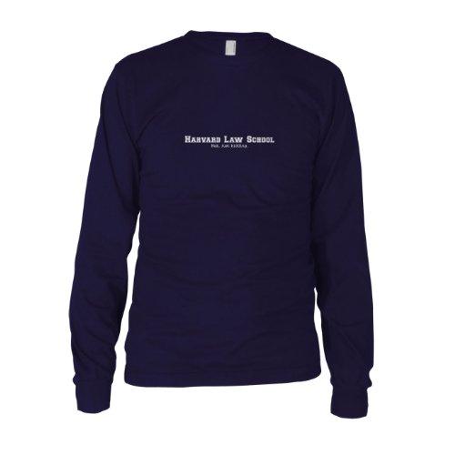 Harvard Law School. Nah, just kidding. - Herren Langarm T-Shirt, Größe: S, (Kostüme School Law)
