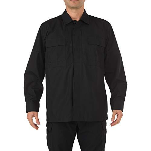 5.11Tactical # 72002Ripstop TDU Long Sleeve Shirt XL schwarz -